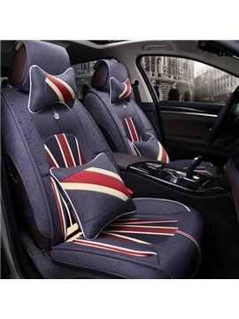 Union Jack Popular Design Pattern Universal Five Car Seat Cover