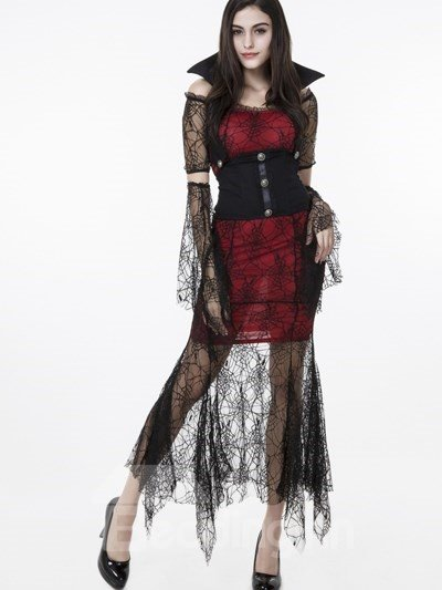 Magic And Charming Lace Decoration Recoil Sets Cosplay Costumes
