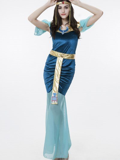 Elegant Tight Sexy Egyptian Goddess Modeling Common Size Cosplay Costumes