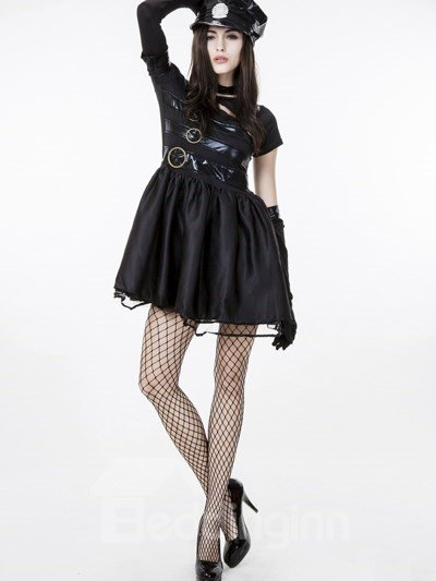 Scissorhands With Police Sexy Popular Cosplay Costumes