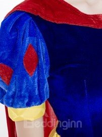 Beautiful Snow White Modeling And Charming Cloak Cost-Effective Cosplay Costumes