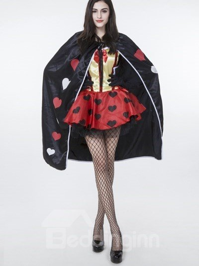 Nifty And Cute Lovely Queen Style With Headwear Cosplay Costumes