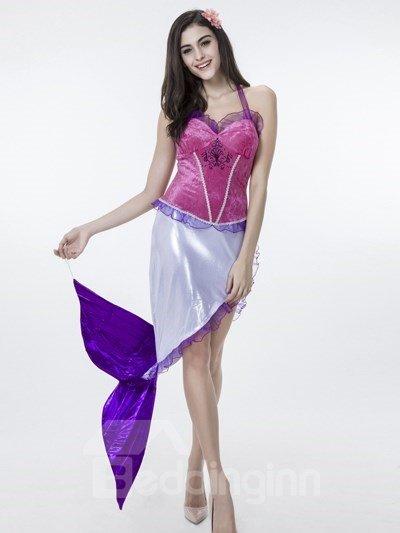 Vivid Beautiful Mermaid Clothing Design Cosplay Costumes