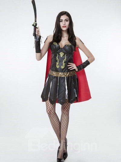 Cool Soldier Cloth Design With Cloak Cosplay Costumes