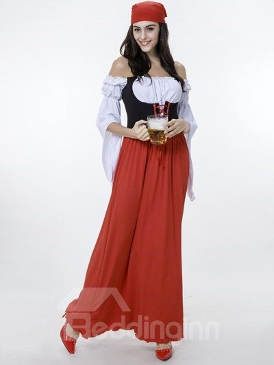 Beautiful And Attractive Beer Girl Cosplay Costumes