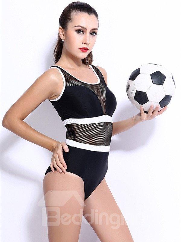 Female Free Wire Push up Sexy See-Through Monokini