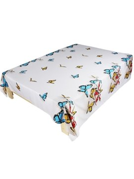 Beautiful Butterfly 3D Printed Cotton Flat Sheet