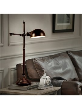Black Simple Style Eye Protection Design Home Reading Table Lamp