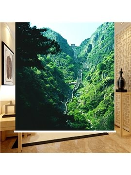 Spectacular Ladder of Chinese Mount Tai 3D Printing Blackout Roller Shades