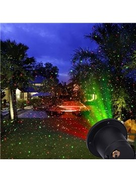 Fantastic Plastic Red and Green Color Indoor Outdoor Projection LED Light