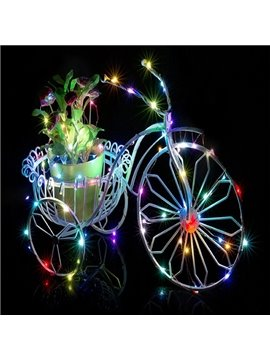 Colorful 13 Feet 40 Bulbs Home Decorative LED String Light