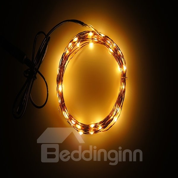 Colorful 32 Feet 100 Bulbs Home Decorative LED String Light