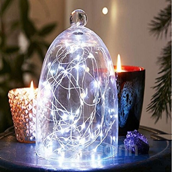 Colorful 13 Feet 40 Bulbs Home Decorative LED String Light