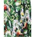 Christmas Style Long Sleeve Christmas Tree Pattern 3D Painted Hoodie