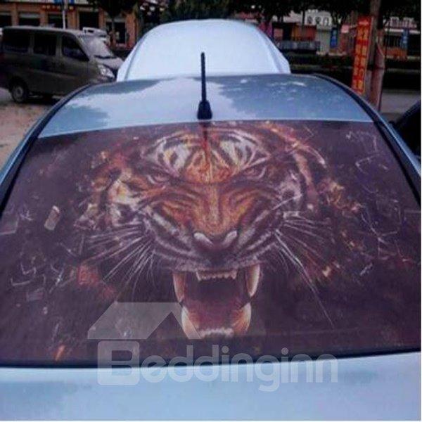 Popular Ferocious Tiger Modeling Anti-Rear High Beam Car Sticker
