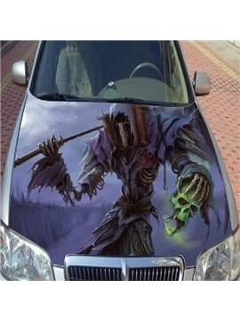 Special Cool Skull Modeling Striking Car Sticker