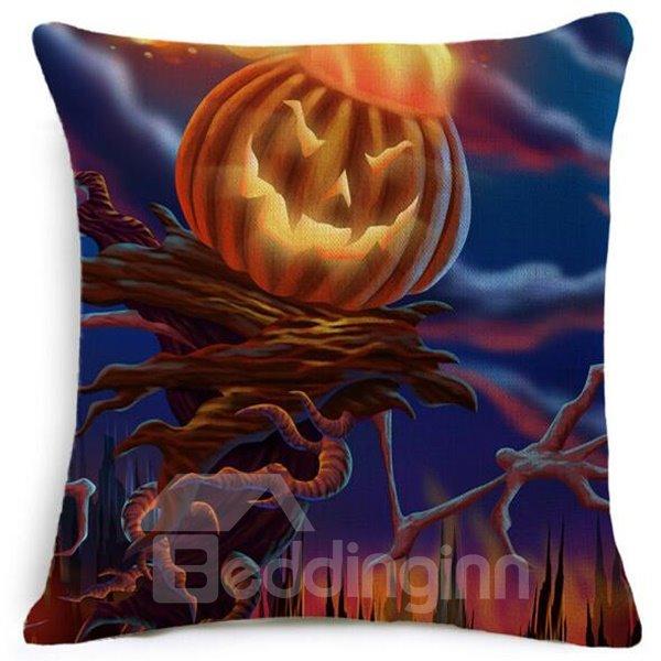 Creative Halloween Classic Pumpkin Modeling Car Pillow