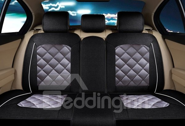 Luxury Mash Up Color With Fashion Cloth Design Universal Five Seven Car Seat Cover