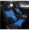 Bright Fascinated Color Mixed Easy Breathable Material Five Seven Car Seat Cover