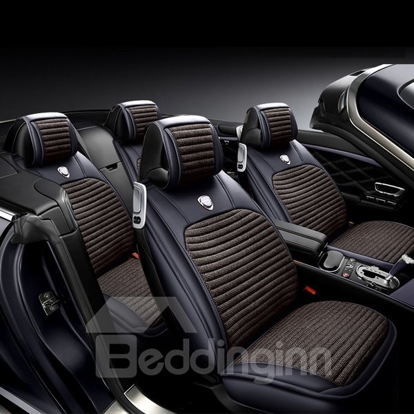 Stereoscopic Effect Charming Special Design Universal Five Seven Car Seat Cover