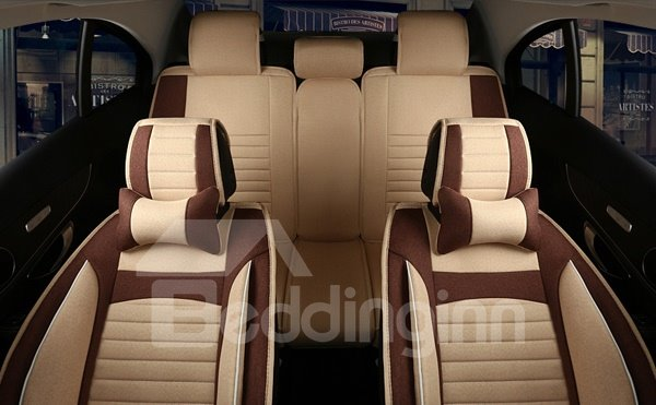 High Cost-Effective Popular Leather Sport Style Universal Five Seven Car Seat Cover