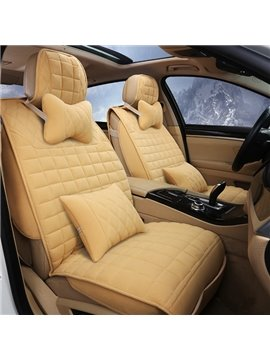 Attractive Solid Design And Eco-Friendly Universal Five Seven Car Seat Cover