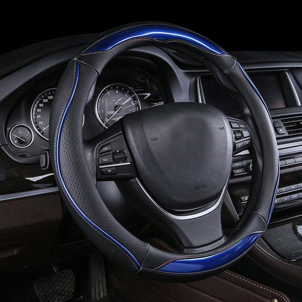 Contrast Colorful Sport Style Pretty Beautiful Car Steering Wheel Cover
