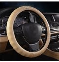 Durable And Solid Texture Leather Car Steering Wheel Cover