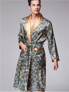 One-Piece Floral Robe Formula Luxury Popular Pajamas