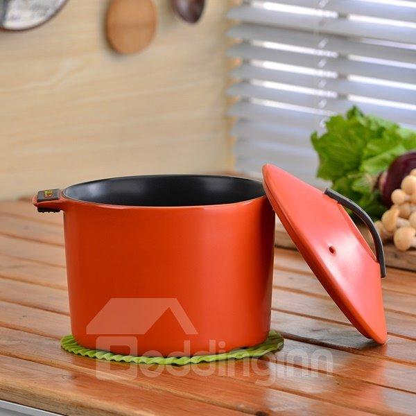 Wonderful Simple Style Ceramic Cookware Heat-resisting 2.8L Stockpot