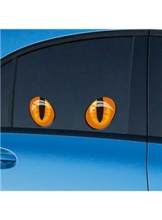 Cute And Interesting Eye Pattern Side Windows Decorative Car Sticker