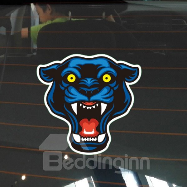 Mutated Fierce Tiger Head Style Design Creative Car Sticker