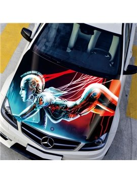 Magic Attractive Future Of Mankind Modeling Creative Car Sticker