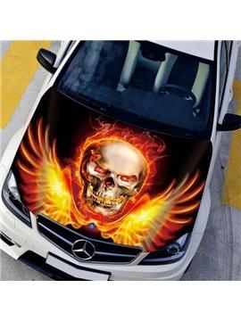 Rise From The Ashes Evil Skull Modeling Car Sticker