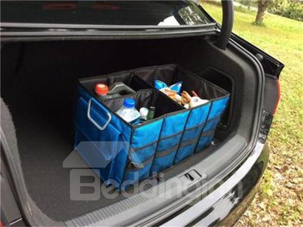 High Capacity And Foldable With Many Pockets Trunk Organizer
