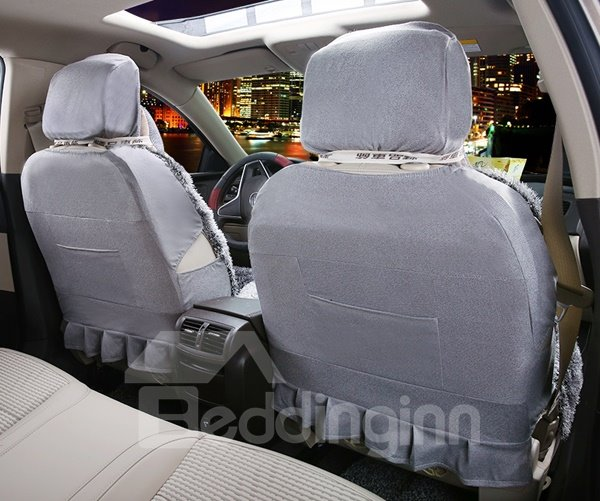 Prevent Cold And Super Warm Plush Material With Special Design Universal Car Seat Cover