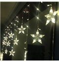 Unique Design Star Shape 6.6 Feet Width 8 Flickers LED Light