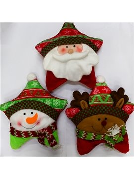 Lovely Festival Christmas Decoration Three Patterns for Choose Bolster