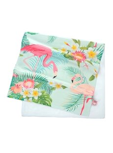Watercolor Tropical Flamingos Printing Face & Hand Towel