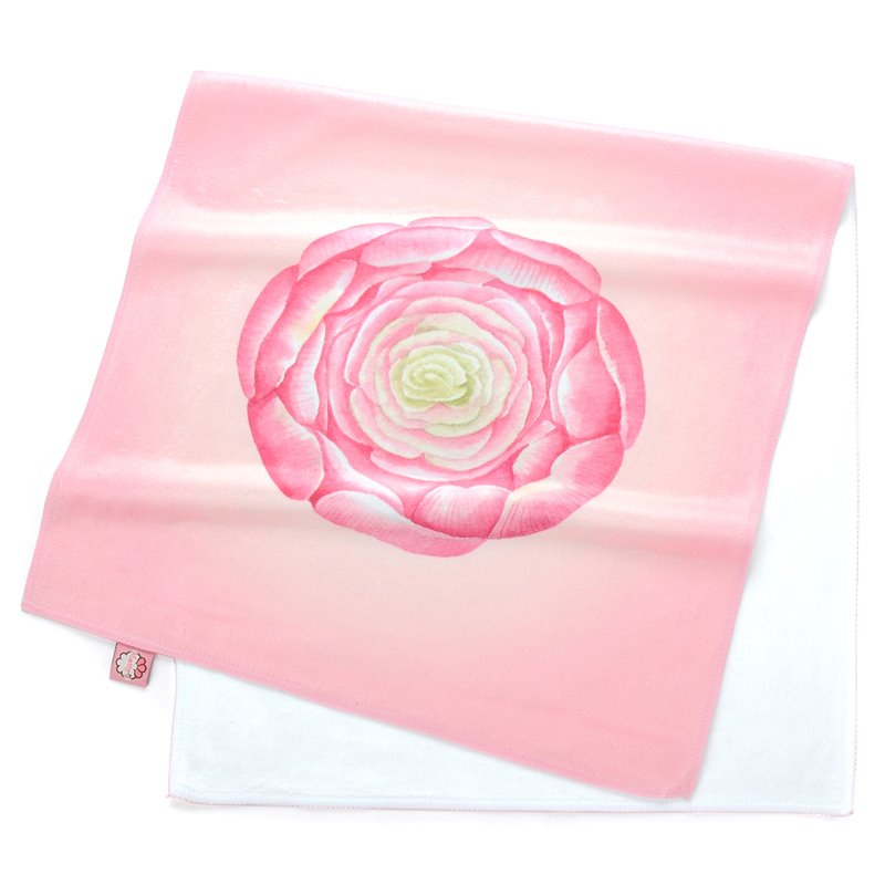 Face Towel Dream Meaning: Lovely Watercolor Pink Succulents Printing Face & Hand
