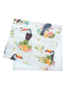 Lovely Tropical Toucan Printing Face & Hand Towel