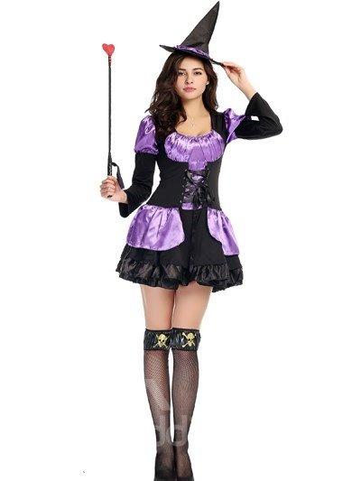 Purple Skirt Temptation Little Fairy Modeling Cosplay Costumes