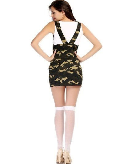 Attractive Navy Suit And good Flexibility Design Cosplay Costumes
