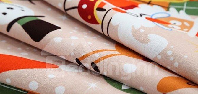 100% Cotton Christmas Gift 4-Piece Duvet Cover Sets
