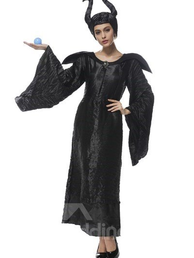 Magic Witch With Magical Spells And Special Creative Hat Cosplay Costumes