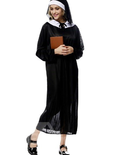 Holy Nun Goddaughter Decoration Elegant Cosplay Costumes