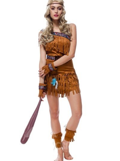Classic Savage Cloth Lifelike Design Cosplay Costumes