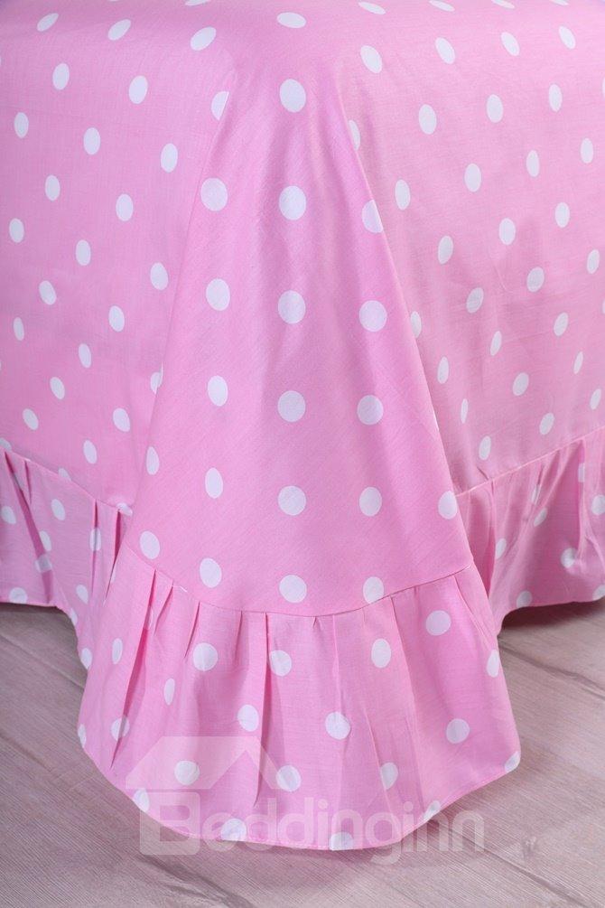 Mermaid Princess Pattern Kids Cotton 4-Piece Duvet Cover Sets