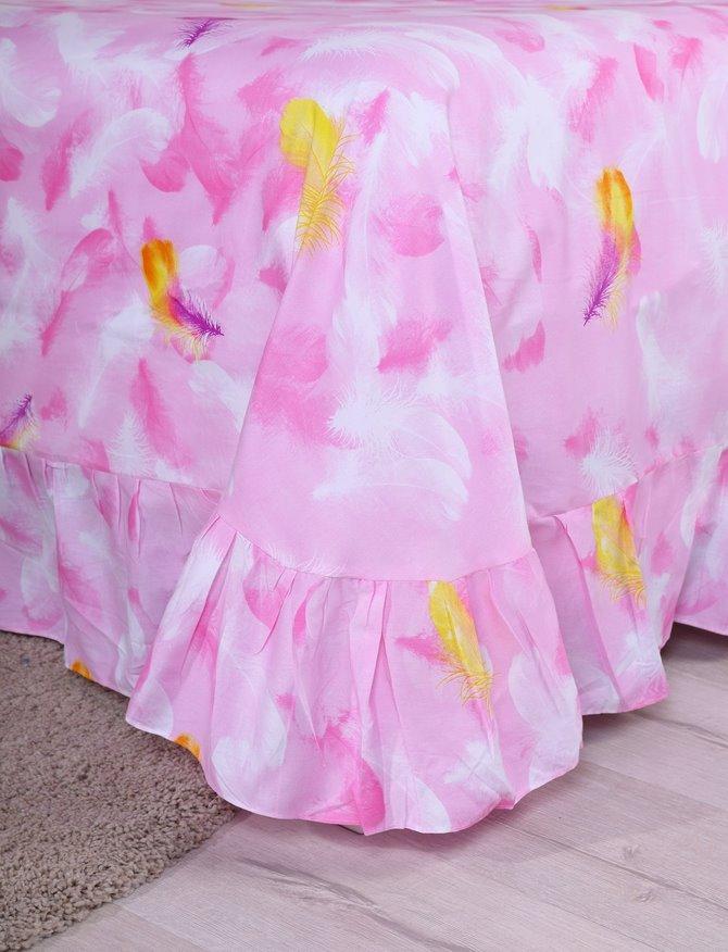 Wonderful Ballet Skirt Pattern Kids Cotton 4-Piece Duvet Cover Sets