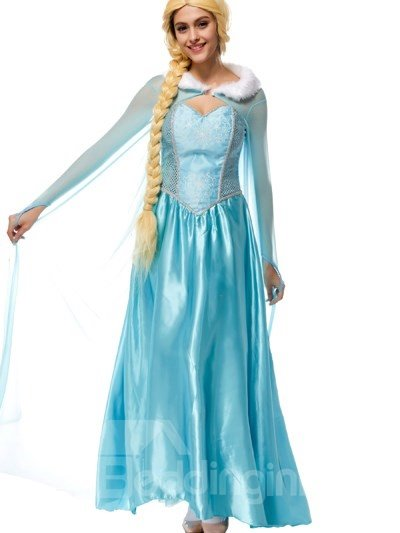 Bright Elegant Smurfs Fairy Style Design Popular Cosplay Costumes